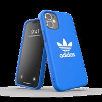 adidas Originals kunststof hoesje voor iPhone 12 mini - blauw met wit