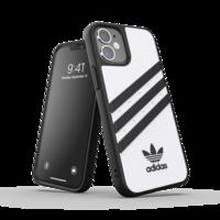 adidas Originals kunststof hoesje voor iPhone 12 mini - wit met zwart