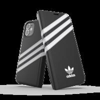 adidas Originals kunstleer hoesje voor iPhone 12 mini - zwart