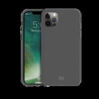 Xqisit Eco Flex Bio afbreekbaar Anti Bacterieel hoesje voor iPhone 12 en iPhone 12 Pro - grijs