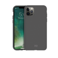 Xqisit Eco Flex Biologisch afbreekbaar en Anti Bacterieel hoesje voor iPhone 12 Pro Max - grijs