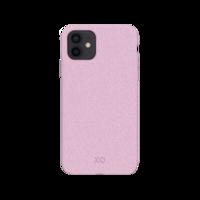 Xqisit Eco Flex Biologisch afbreekbaar en Anti Bacterieel hoesje voor iPhone 12 mini - roze