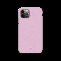 Xqisit Eco Flex Bio afbreekbaar Anti Bacterieel hoesje voor iPhone 12 en iPhone 12 Pro - roze
