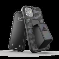 adidas Sport Grip kunststof hoesje voor iPhone 12 mini - zwart camo
