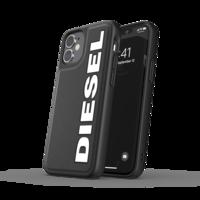 Diesel Moulded Case kunststof hoesje voor iPhone 12 mini - zwart