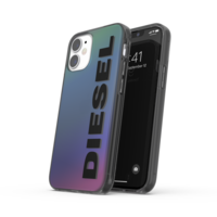 Diesel Snap Case Holographic kunststof hoesje voor iPhone 12 mini - holografisch