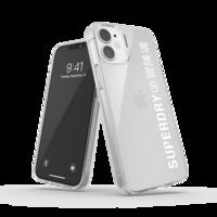 Superdry Snap Case Clear kunststof hoesje voor iPhone 12 mini - transparant