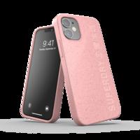 Superdry Snap Case Compostable Materials kunststof hoesje voor iPhone 12 mini - roze