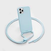 LAUT Pastels kunststof hoesje voor iPhone 12 en iPhone 12 Pro - blauw