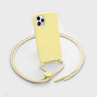 LAUT Pastels kunststof hoesje voor iPhone 12 en iPhone 12 Pro - geel