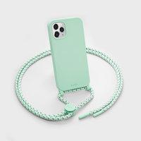 LAUT Pastels kunststof hoesje voor iPhone 12 en iPhone 12 Pro - groen