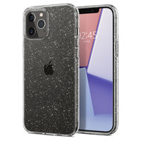 Spigen Liquid Crystal Air Cushion Technology hoesje voor iPhone 12 Pro Max - transparant glitters