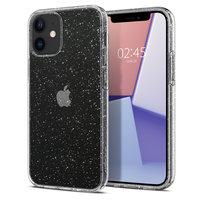 Spigen Liquid Crystal Air Cushion Technology hoesje voor iPhone 12 mini - transparant glitters