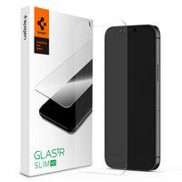 Spigen Glassprotector iPhone 12 en 12 Pro - Bescherming Krasvrij