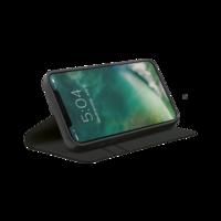 Xqisit Eco Wallet Selection biologisch afbreekbaar hoesje voor iPhone 12 en iPhone 12 Pro - zwart