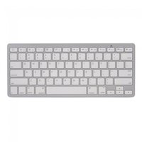 Wit Bluetooth keyboard draadloos toetsenbord QWERTY
