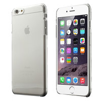 Doorzichtig transparant hoesje iPhone 6 / 6s doorzichtige Hard case cover