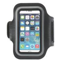 Sport Armband iPhone 5 5s SE 2016 Zwarte hardloopband Sportband