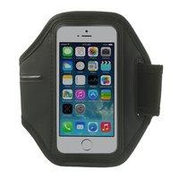 Sport Armband iPhone 5 5s SE Zwarte hardloopband Sportband