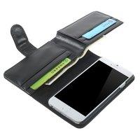 Portemonnee Bookcase hoesje iPhone 6 6s extra groot Lederen wallet Leer