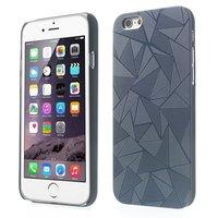 Triangle aluminium hoesje iPhone 6 Plus / 6s Plus Zwarte hardcase Driehoek cover
