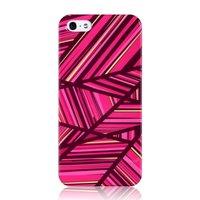 GGMM IML Series iPhone 5 5s SE hoesje - Roze hardcase lijnen