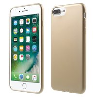 Gouden hoesje iPhone 7 Plus 8 Plus Silicone cover Golden case