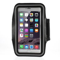 Hardloopband iPhone 6 6s 7 8 Plus sportband Zwart