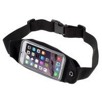 Sportband iPhone 6 6s en 7 8 - Hardlopen - Sporten - Heupband - Zwart