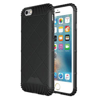 Protectie hoesje zwart iPhone 6 Plus 6s Plus TPU cover