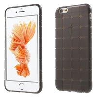 iPhone 6/6s grijs geblokt hoesje TPU cover