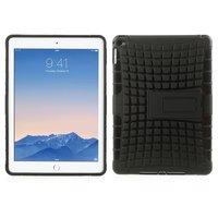 Shockproof iPad Air 2 Hoes - Zeer robuuste TPU hardcase zwart