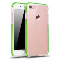 Flashgroen iPhone 7 8 hoesje silicone doorzichtig case