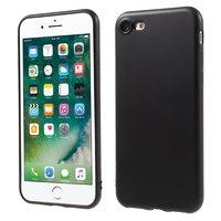 Mat zwart TPU case voor de iPhone 7 8 zakelijk hoesje