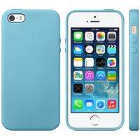 Lichtblauw TPU hoesje voor de iPhone 5 5s en SE slim case