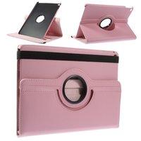 Roze iPad Air 2 hoesje case met draaibare cover standaard