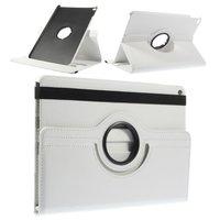 Witte iPad Air 2 case met draaibare cover standaard