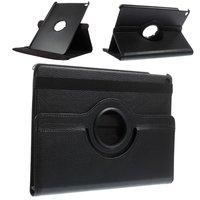 Zwarte iPad Air 2 hoesje case met draaibare cover standaard