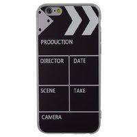 Filmklapper hoesje iPhone 6 en 6s case