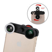 4 in 1 Lens iPhone 6 6s Macro Superwide Fish Eye Telephoto