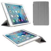 Grijze trifold iPad mini 4 hardcase met cover hoes smartcase
