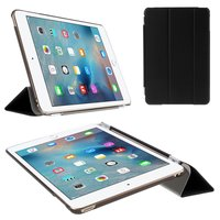 Zwarte trifold iPad mini 4 hardcase met cover hoes smartcase