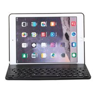 Witspad Bluetooth keyboard cover hoes backlight iPad Air 2 - black case - QWERTY toetsenbord