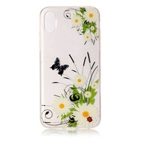 Lente madelief bloemen TPU hoesje iPhone X XS case cover
