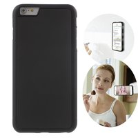 Anti-Gravity case hands-free selfie cover zwart iPhone 6 6s hoes nano coating