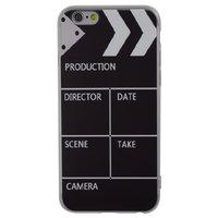Filmklapper silicone iPhone 6 Plus 6s Plus hoesje case cover