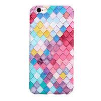 Gekleurde schubben hardcase iPhone 6 6s hoesje cover
