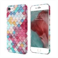 Gekleurde schubben hardcase iPhone 7 8 hoesje cover