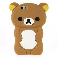 3D beertje Rilakkuma iPhone 6 6s hoesje case cover