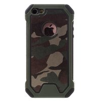 Leger survivor TPU hardcase iPhone 5 5s SE 2016 hoesje case cover camo army